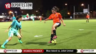 Blue Island vs. Joliet United Chicago Women Premier Academy Soccer