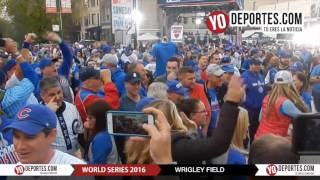 World Series 2016 Wrigley Field Cubs vs. Cleveland Indians