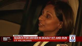 Search for driver in deadly hit and run