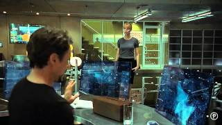 Iron Man 2 Amazing Interfaces & Holograms (Pt. 1 of 3)