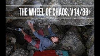 Jeremy Sends The Wheel of Chaos, V14/8B+!