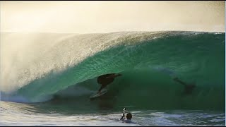 Skimboarder Catches Unbelievable Waves With Style in California - Raw Footage