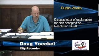 8/4/14 City of Portland Council Meeting