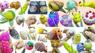 ASMR Compilation Cutting Open Squishy Squeeze 40 Minutes No Talking No Music