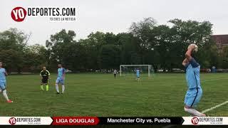 Manchester City elimina a Puebla en la Liga Douglas de Chicago