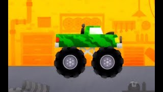 Cars for Kids cartoons spiderman games 2017 - Monster truck racing games duck moose 1