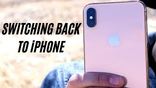 Switching to iPhone!