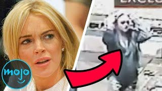 10 Celebrities Caught on Camera Breaking the Law