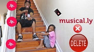 I Deleted My Daughter's Musical.ly Prank