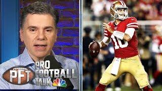 Jimmy Garoppolo fails to lift 49ers in loss to Seahawks | Pro Football Talk | NBC Sports