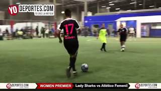 Lady Sharks vs Atlético Femenil Champions Femenil Latino Premier Academy Soccer League