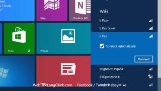 Connect to the Internet in Windows 8 - Windows 8: Out of the Box