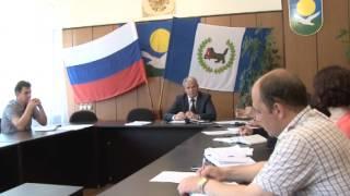 Планёрка главы Администрации, г Байкальск 15.06.2015