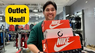Php20,000 NIKE OUTLET HAUL UNBOXING!!! ($400)