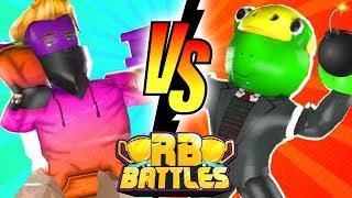 SKETCH vs BANDI - RB Battles Championship For 1 Million Robux! (Roblox Mad City)