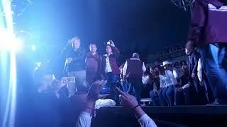 AMLO llama a no responder provocaciones durante su mitin en Pachuca