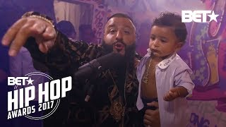 Instabooth With DJ Khaled, XXXTentacion, Big Shaq & more Freestyle Cypher | BET Hip Hop Awards 2017