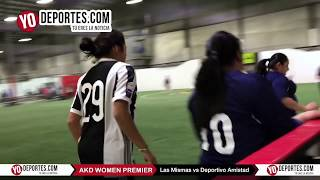 Las Mismas vs. Deportivo Amistad AKD Women Premier Academy Soccer League