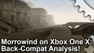 [4K] Morrowind: Xbox One X vs OG Xbox: 16x Resolution + Massive Performance Boost!