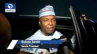 Obasanjo, Saraki Meet Behind Closed Doors
