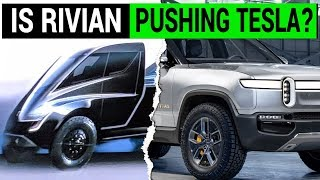 Is Rivian Pushing Tesla To Unveil Its Electric Pickup Truck Sooner?