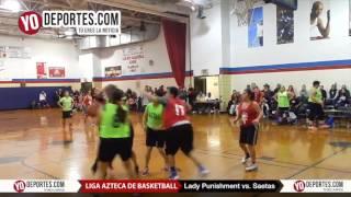 Lady Punishment vs. Saetas final femenil Liga Azteca de Basketball