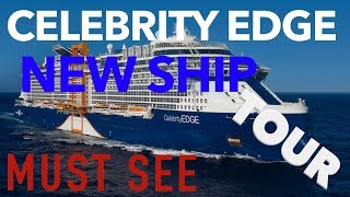 Celebrity Edge - Full Walkthrough Tour - Celebrity Cruise Lines