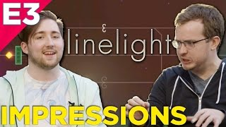 Linelight - PUZZLE GAMEPLAY Impressions @ E3 2016