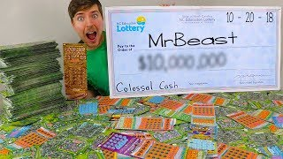 I Spent $50,000 On Lottery Tickets And Won