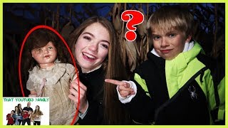 Strange Doll Is Controlling Jordan - The DollMaker Part 6 / That YouTub3 Family I Family Channel