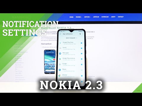 How to Turn Off Notifications on Nokia 2.3 – Apps Notifications