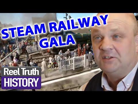 Steam Railway RAF Gala | Yorkshire Steam Railway: All Aboard | Reel Truth History Documentaries