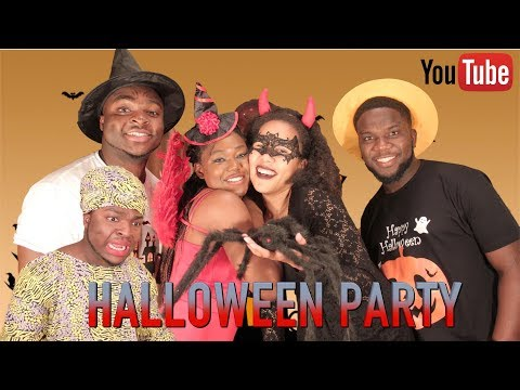 AFRICAN HOME: HALLOWEEN PARTY
