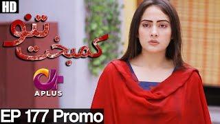 Kambakht Tanno - Episode 177 Promo | A Plus ᴴᴰ Drama | Shabbir Jaan, Tanvir Jamal, Sadaf Ashaan
