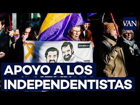 Concentración en apoyo a los presos independentistas