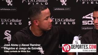 Jose Abreu y Alexei Ramirez