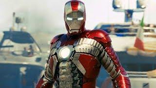 Iron Man vs Ivan Vanko (Whiplash) - Monaco Fight Scene - Iron Man 2 (2010) Movie CLIP HD