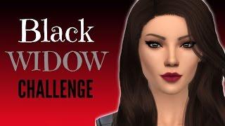 Black Widow Challenge: Sims 4   Part 4   First Wedding