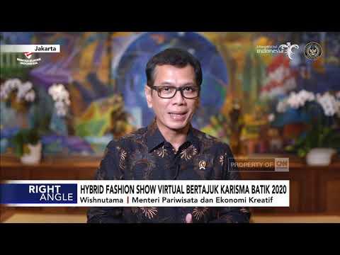 Hybrid Fashion Show Virtual Bertajuk Karisma Batik 2020