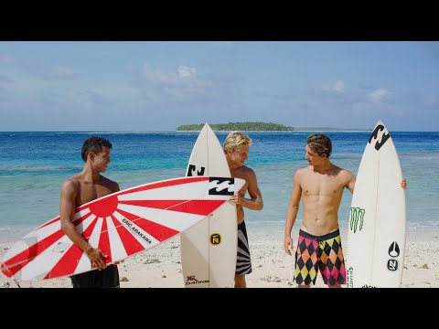 Andy Irons' Surfboards, Ridden By Ethan Ewing, Griffin Colapinto and Seth Moniz