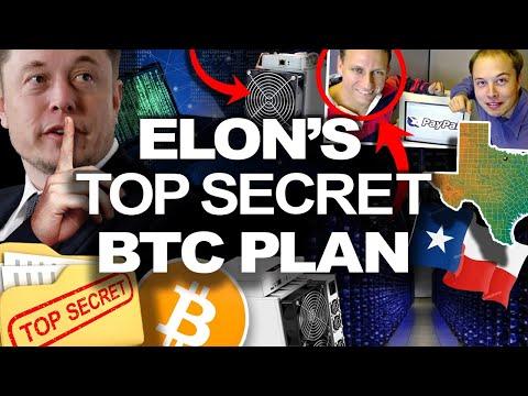 """Elon Musk Has A """"SECRET"""" Plan for BITCOIN in Texas!?"""