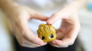 ASMR Baby Groot Fidget Cube - Stress Relieving Button Sounds