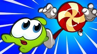 OM NOM v/s CANDY | CANDY TROUBLE | Om Nom Stories Cut The Rope | Funny Cartoons HooplaKidz Toons