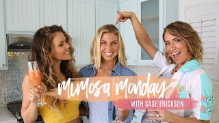 Mimosa Monday with Surf Champion Sage Erickson!