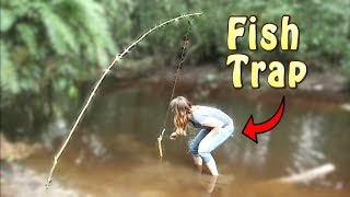 How to build an automatic fishing pole