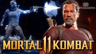 Brutality Hunting With The Terminator! - Mortal Kombat 11: ″Terminator″ Gameplay