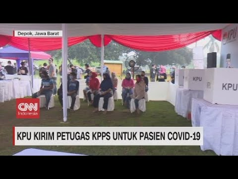 KPU Kirim Petugas KPPS untuk Pasien Covid-19