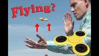 Insane Fidget Spinner Levitation Tricks by *** Special Head ***