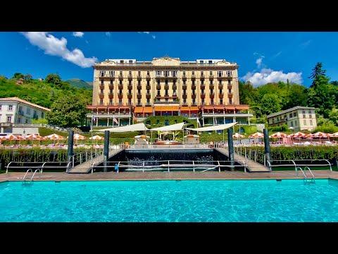 Grand Hotel Tremezzo (Lake Como, Italy): full tour (WOW!)