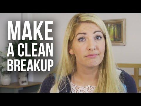 Having a Healthy Breakup
